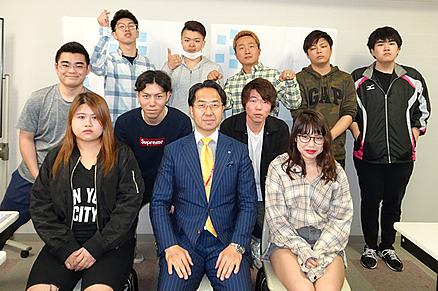 2019年度の小松ゼミの学生