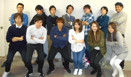 2016年度の小松ゼミの学生
